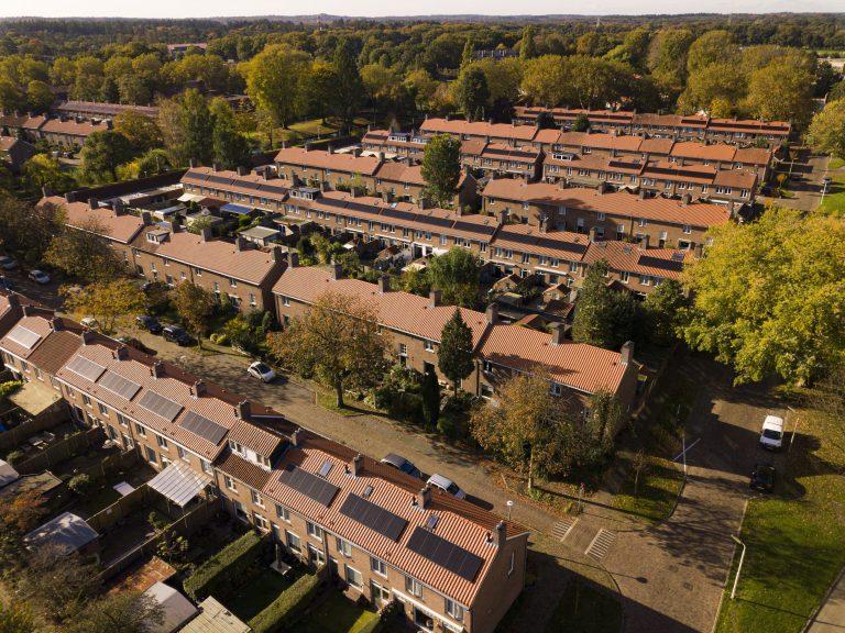 Woningen met zonnepanelen verduurzaamd